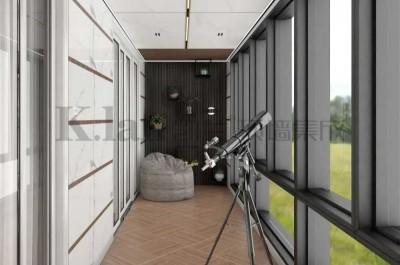 阳台装修颜值实用一手抓,让家更高级