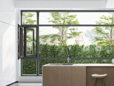 罗兰德式赛亚系列窗纱一体断桥平开窗,不仅是一件艺术品!