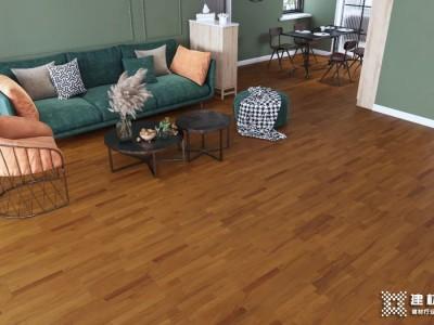 德尔实木地板臻镜系列,为家铺上稳稳的幸福